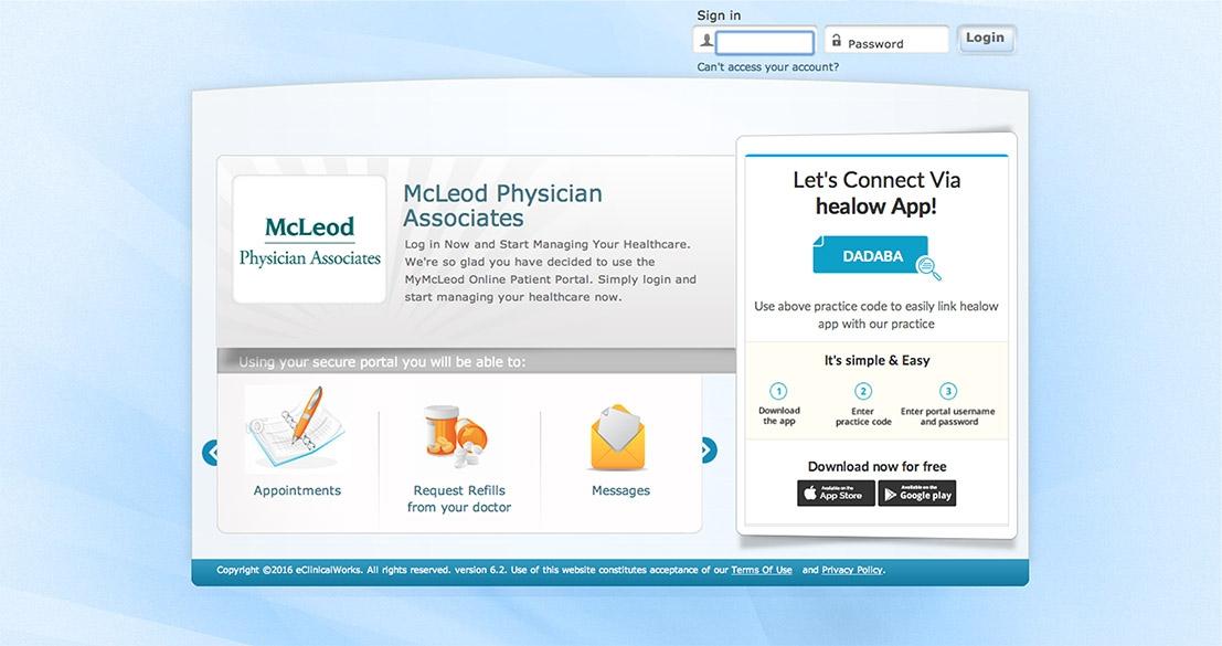 Patient Portal - McLeod Health