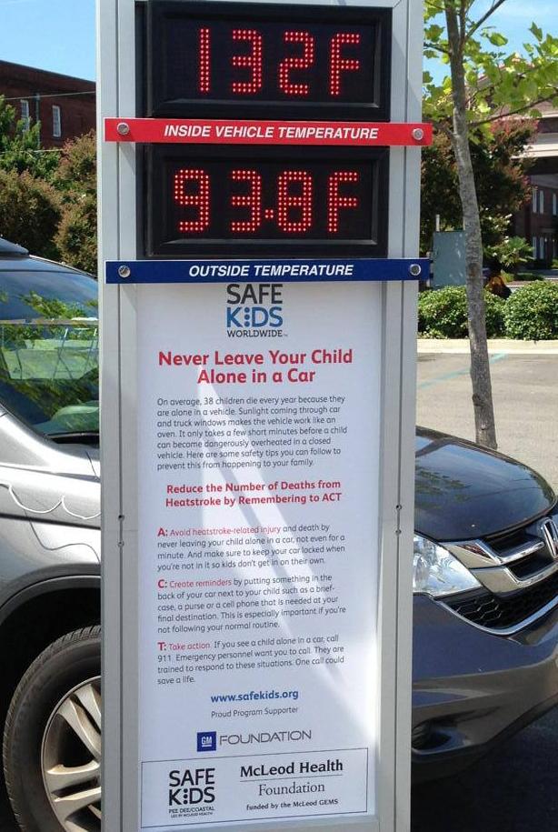 McLeod Safe Kids Raises Awareness of the Dangers of