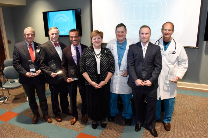 McLeod Physicians Honored with Pillars of Professionalism