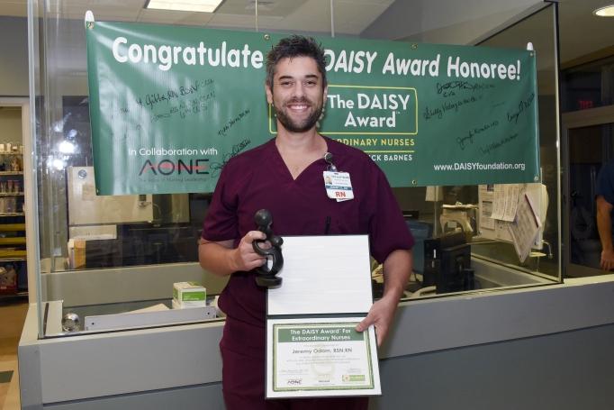 Mcleod Cardiac Nurse Receives August Daisy Nursing Award Mcleod Health