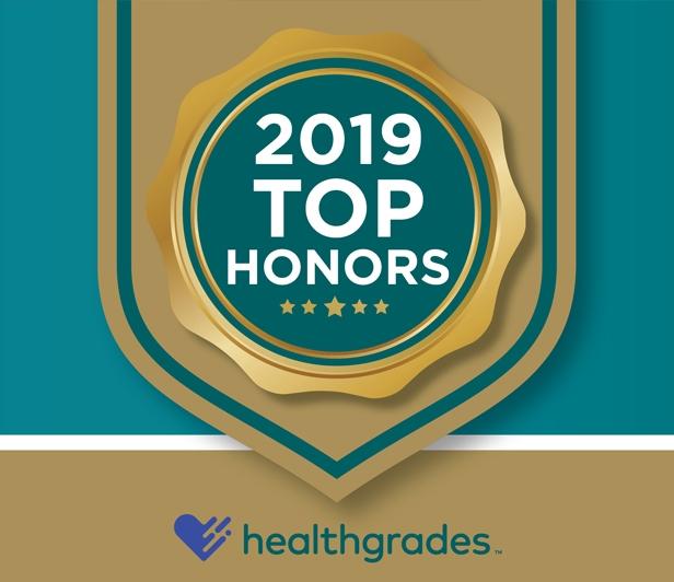McLeod Health earned Top Honors in major Healthgrades categories in recent years