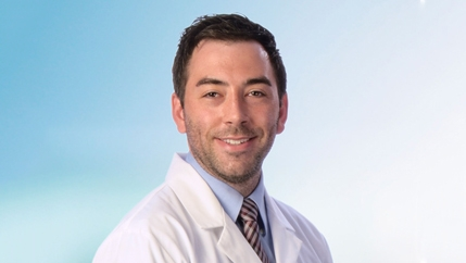 Doctor Garrett Barton, a primary care doctor at McLeod Health Cheraw