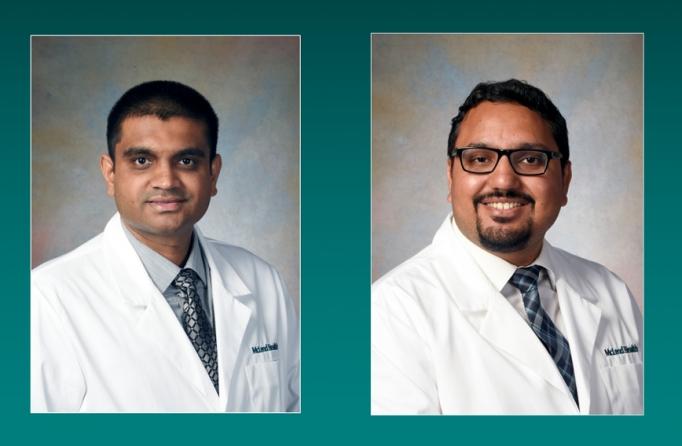 Psychiatrist Dr. Alkesh Gajjar and hospitalist Dr. Arpit Khandelwal join the McLeod Health family of medical professionals