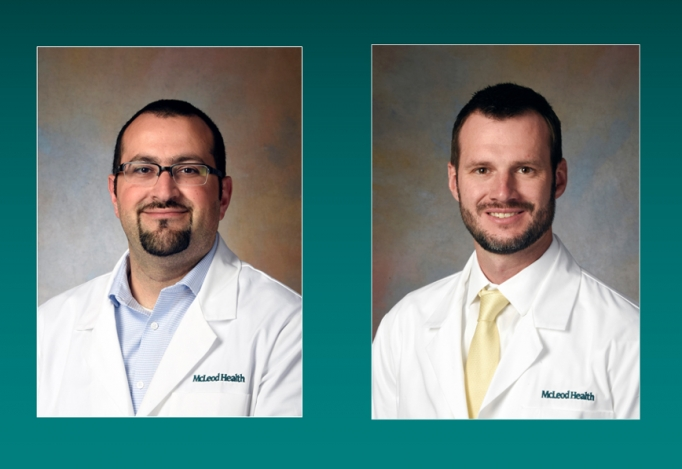 Dr. David Steflik joins the McLeod family as a pediatric cardiologist and Dr. Yazan Haddadin joins the McLeod Critical Care Specialists