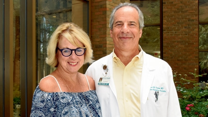Dr. Fred Kranin and his wife, Mary, work with the McLeod Foundation to ensure patients can enroll in McLeod Health's Cardiac Rehabilitation Program