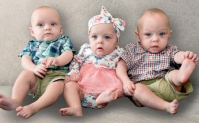 Triplets Tallon, Avery and Tavner Sports were closely monitored in the McLeod Children's Hospital NICU after being born at 25 weeks