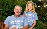 Lyndsey Grace Belk, only 12-years-old, is an experienced volunteer at Camp Jessie's Kids which helps children through the grieving process