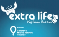 Logo for the 2019 ExtraLife tournament where local gamers raised more than $72,000 for McLeod Children's Hospital